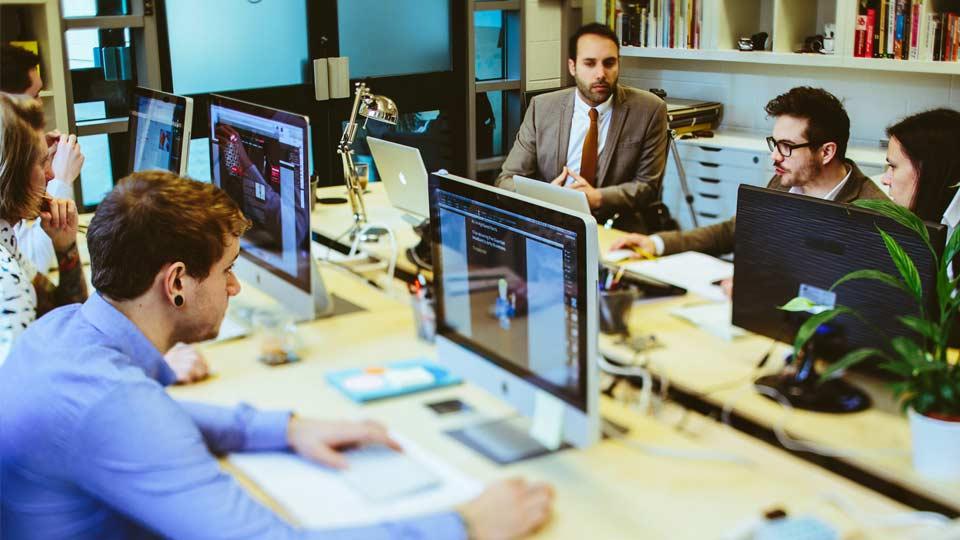 mock image team working